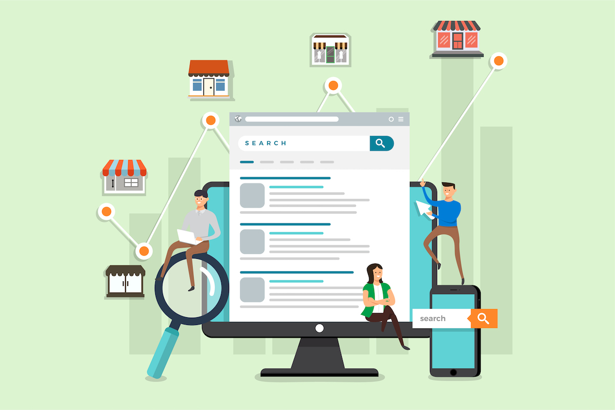 How to improve local SEO for business.