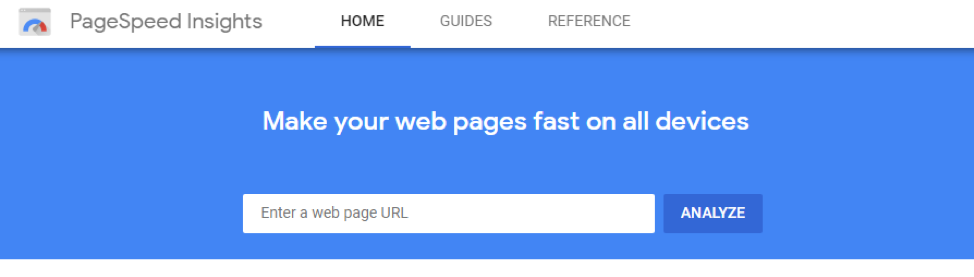 Google PageSpeed Insights for local SEO