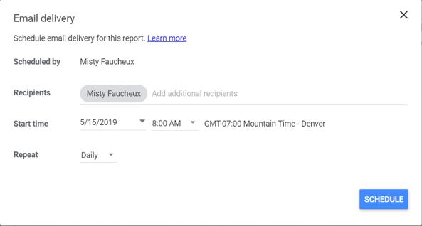How to share a Google Data Studio dashboard