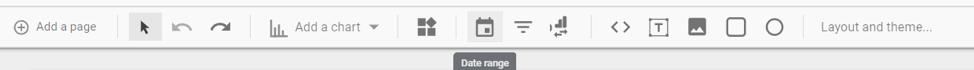 Create marketing dashboards in Google Data Studio
