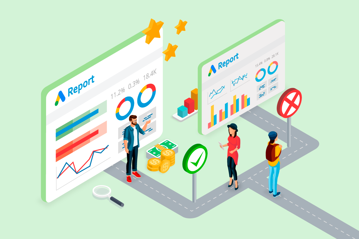 How to modify the Google Ads Overview Report for Data Studio