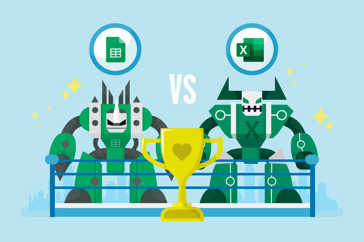 Google Sheets Vs Microsoft Excel which is better for digital marketing?